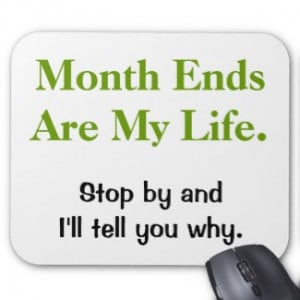 SHOP Accounting Month End Gifts