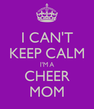 Keep Calm And Cheer You Can