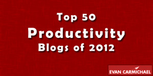 Top 50 Productivity Blogs of 2012