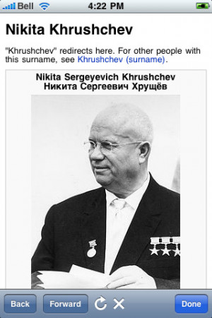 Nikita Khrushchev Quotes Screenshots