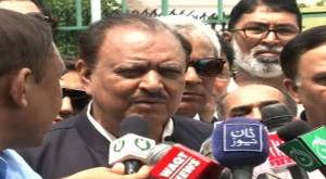 ... candidate Mamnoon Hussain despite objections, Geo News reported