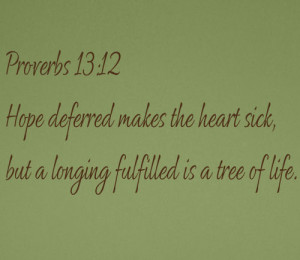 ... by Collection > Inspiring > Religious > Longing Fulfilled Wall Decal