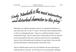 Lady Macbeth Quotes 'lady macbeth is the most