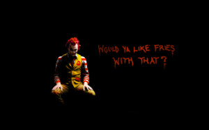 Ronald Mcdonald: Joker edition