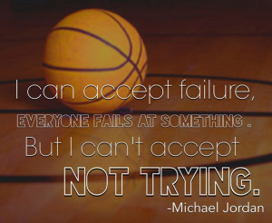 Basketball Quote from Michael Jordan
