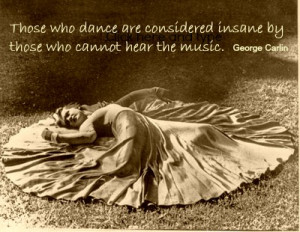 Dance to your own music