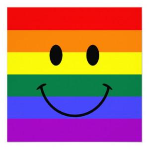 gay smiley face stickers happy face rainbow daisy
