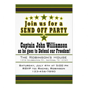 military_army_deployment_send_off_party_invitation ...