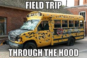 Who wants to go on a field trip?