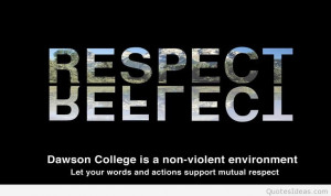 respect people quote image