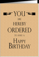 Happy Birthday Lawyer Legal Theme Humor card - Product #868043