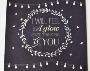 ... Will Feel A Glow Just Thinking of You' | Frank Sinatra Quotes