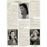 Hedy Lamarr Lana Turner Barbara Ann Scott 1948 Magazine Photos
