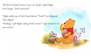 Pooh Bear Friendship Quotes