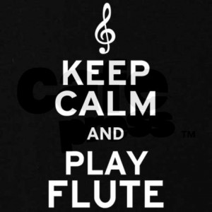 Keep Calm and Flute Band