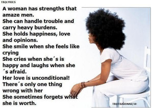 woman's strength