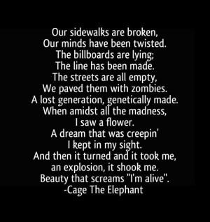 tiny little robots - cage the elephant