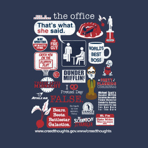 The Office Quote Mash-Up T-Shirt