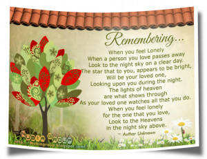 Remembering Lost Loved Ones Quotes