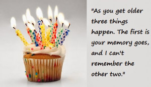Happy Birthday Funny Quotes and Greetings for Friends