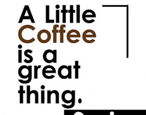 coffee quote print on Etsy, a global handmade and vintage marketplace.
