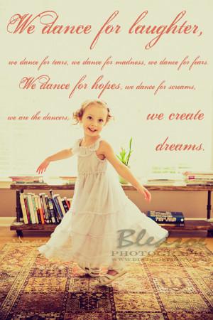 Little Girl Ballerina Quotes Little Girl Ballerina Quotes