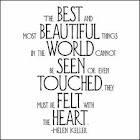 Helen Keller's wise quote
