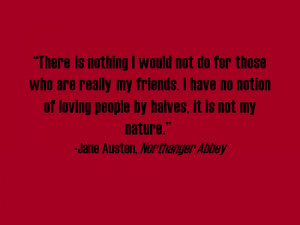 Tags: Northanger Abbey quote