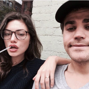 Paul Wesley and Phoebe Tonkin Instagram/Phoebe Tonkin