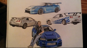 want to add the eclipse, supra and the 69 skyline and the ford ...