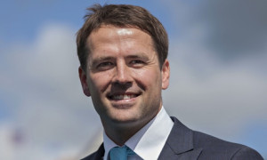 Michael Owen who owns a stable with 90 horses in Cheshire has signed
