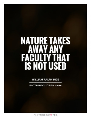 Nature Quotes William Ralph Inge Quotes