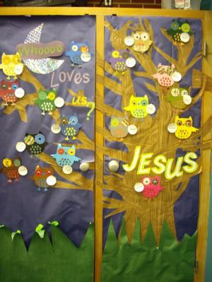 Wrap Up In God's Love Winter Bulletin Board Idea