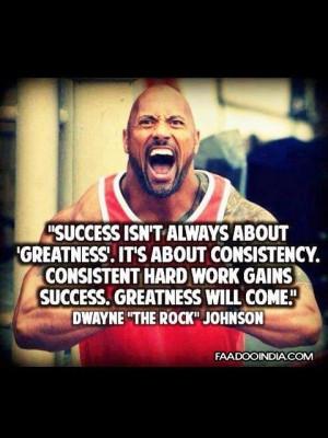 Dwayne Johnson Success Quotes