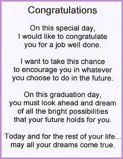 8th grade graduation poems for son | just b.CAUSE