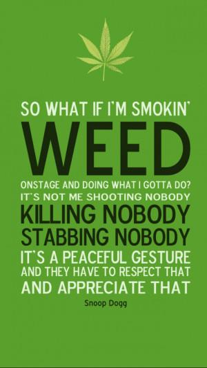 Marijuana Quote Wallpaper