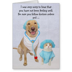 Get Well Cards Funny Quotes