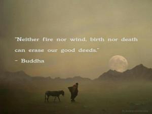 Good deeds...I need to do more