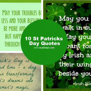 10 St Patricks Day Quotes