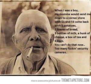 Funny photos funny old man smoking cigar