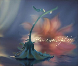 wish you a good day with good morning:)