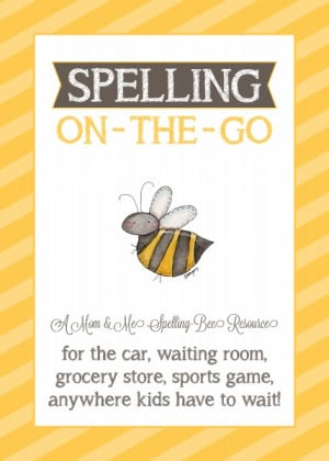 Spelling Bee Sheets