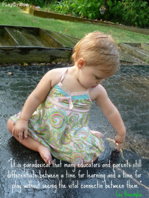 ... highlights the Importance and Power of Play - quote from Leo Buscaglia