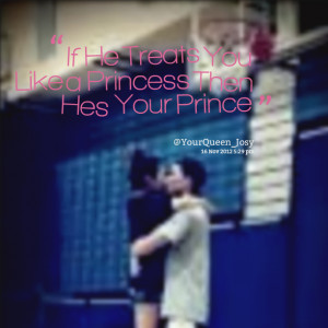 Like A Princess Quotes