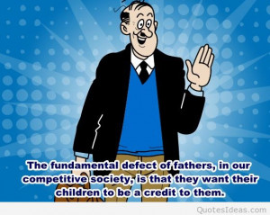Special dad quotes cartoons and photo 2015
