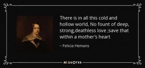 Felicia Hemans Quotes