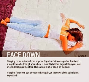 Let's take a look at eight common sleep positions and what they do to ...