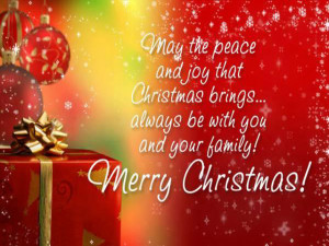 Merry Christmas 2015 Messages, Wishes, Quotes & Greetings