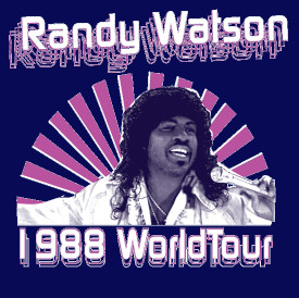 Randy Watson World Tour Coming America Shirt
