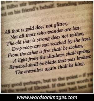 The lord of the rings quotes